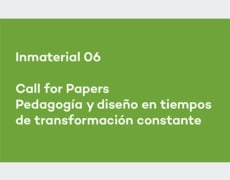 Inmaterial 06, call for papers