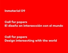 Inmaterial 09, call for papers